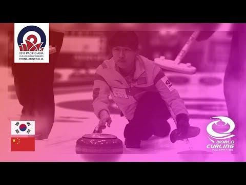 Korea v China - Women - Round-Robin - Pacific-Asia Curling Championships 2017