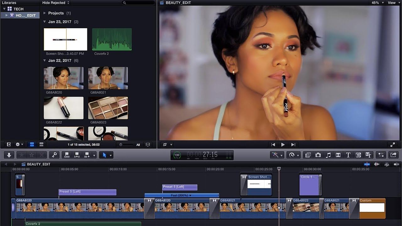 How to edit videos like a beauty guru tech talk youtube ccuart Image collections