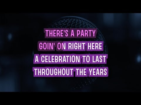 Celebration Karaoke Version by Kool And The Gang (Video with Lyrics)
