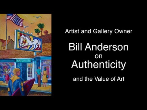 Bill Anderson On Authenticity of Artwork