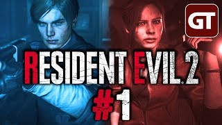 Thumbnail für Resident Evil 2 Gameplay German #1 - Let's Play RE2 Remake 2019 PC