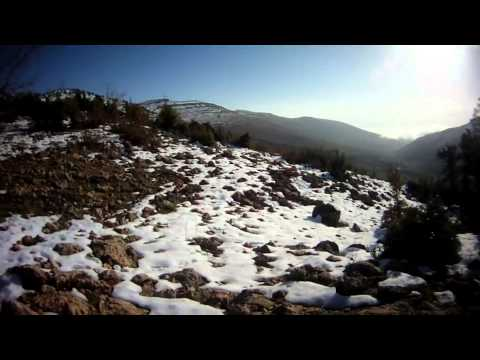 NEW Hunting in Lebanon : Walking in the snowy lebanese hills 2 (chasse au Liban)