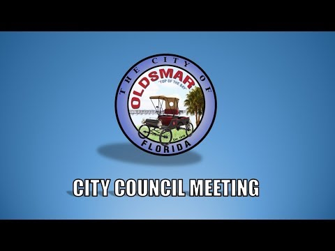Oldsmar City Council Meeting, 8/1/2017