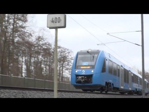 Dünyanın Hidrojen Yakıtla Çalışan İlk Treni Önümüzdeki Günlerde Halka Açık Olarak Almanya'da Test Edilecek