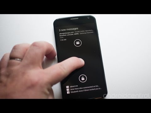 Active Display on the Moto X