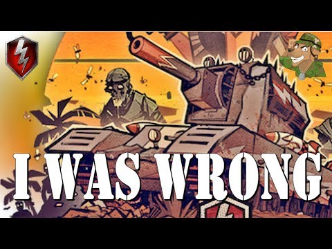 I was wrong! | Smasher Tank | World of Tanks Blitz [2019] thumbnail