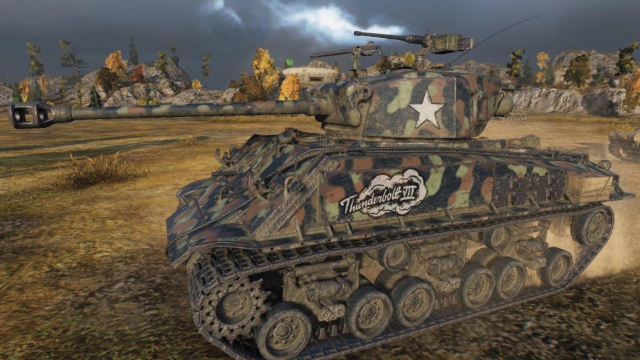 Wot Advent Calendar 2020 World of Tanks M4A3E8 Thunderbolt VII 2034 EXP 61K+ credits ADVENT