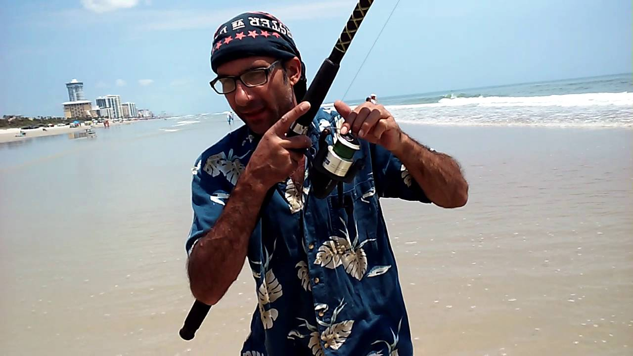 Daytona Beach Surf Fishing