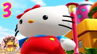 HELLO KITTY Roller Rescue - Gameplay Walkthrough Part 3 (Ending) [1080p] No commentary