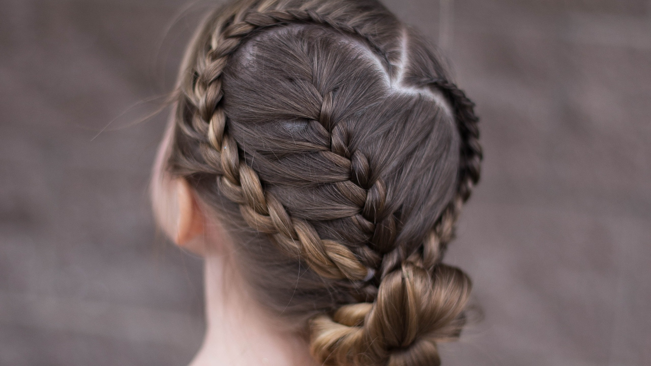 M Style Hair Hawthorn: Sweetheart Braid Combo