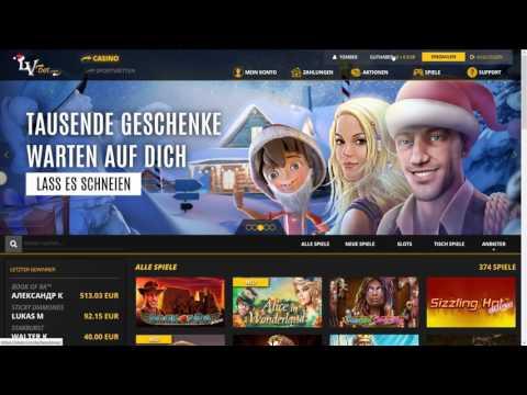 LvBet Casino Erfahrung - Merkur, Novoline und BallyWulff in einem Casino