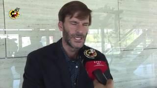 El argentino Leo Franco confía en el potencial de España