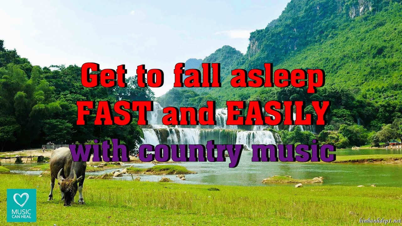 Get To Fall Asleep Fast And Easily With The Country Music
