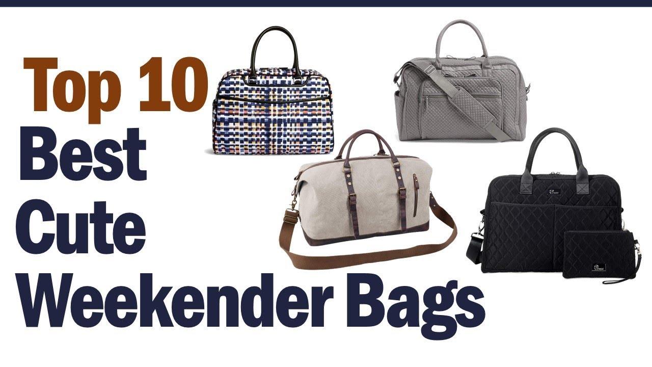 Cute Weekender Bags 2019 Top 10 Cute Weekender Bags Youtube