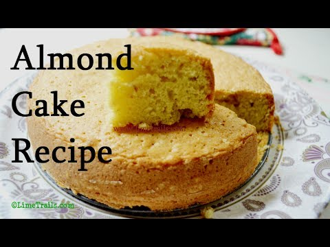 Best Almond Cake Recipe | Bake With Seher | How To Make Sponge Cake | LimeTrails