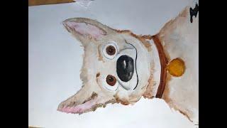 Уроки рисования для детей и взрослых. Собака. Самые известные Собаки в мире.
