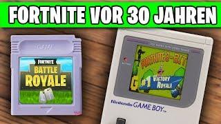 Fortnite vor 30 JAHREN auf dem Gameboy | 8-bit Retro Deutsch German
