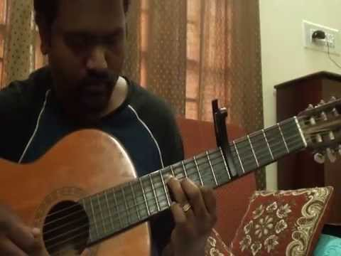 Thoovanathumbikal Theme on Guitar by Anoop