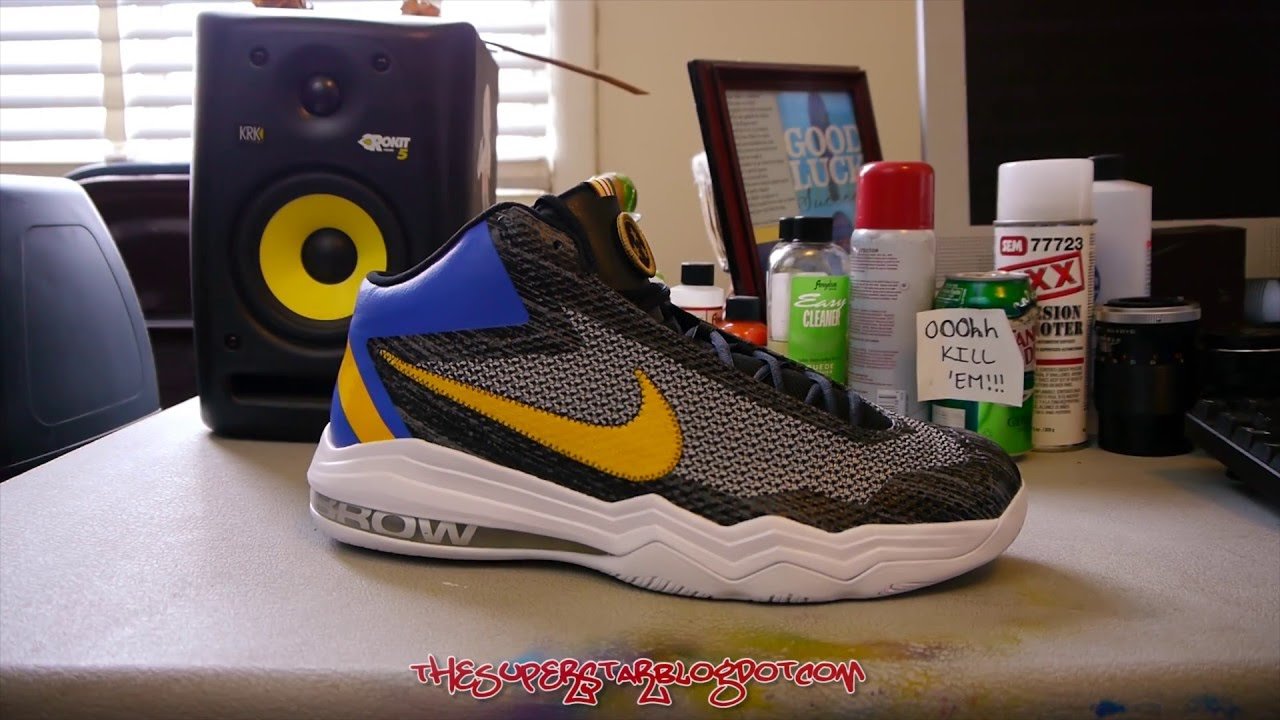 low priced 4f2a6 05381 Nike - Air Max Audacity ASG LMTD - Anthony Davis PE - YouTube