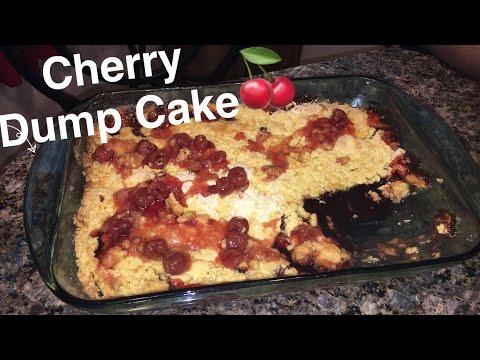 How to Make: Cherry Dump Cake TUTORIAL