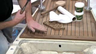 Teak Deck Fabrication and Installation Part 2