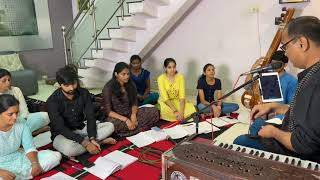 Raag Miyan Malhar   Bole Re Papihara  Practice Session   By Pt. Kuldeep Sagar   Alaap Music Academy