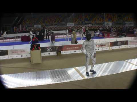 2016 EGY Cairo Men Foil team semifinal USA vs JPN