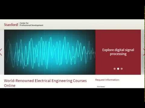 Stanford edu World Renowned Electrical Engineering Courses Online
