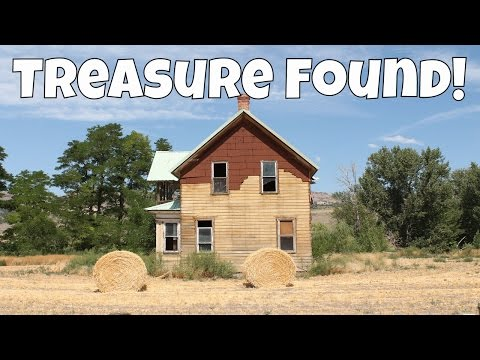TREASURE FOUND in Fixer Upper Backed Taxes House! Antiques & Old Coins! | JD's Variety Channel