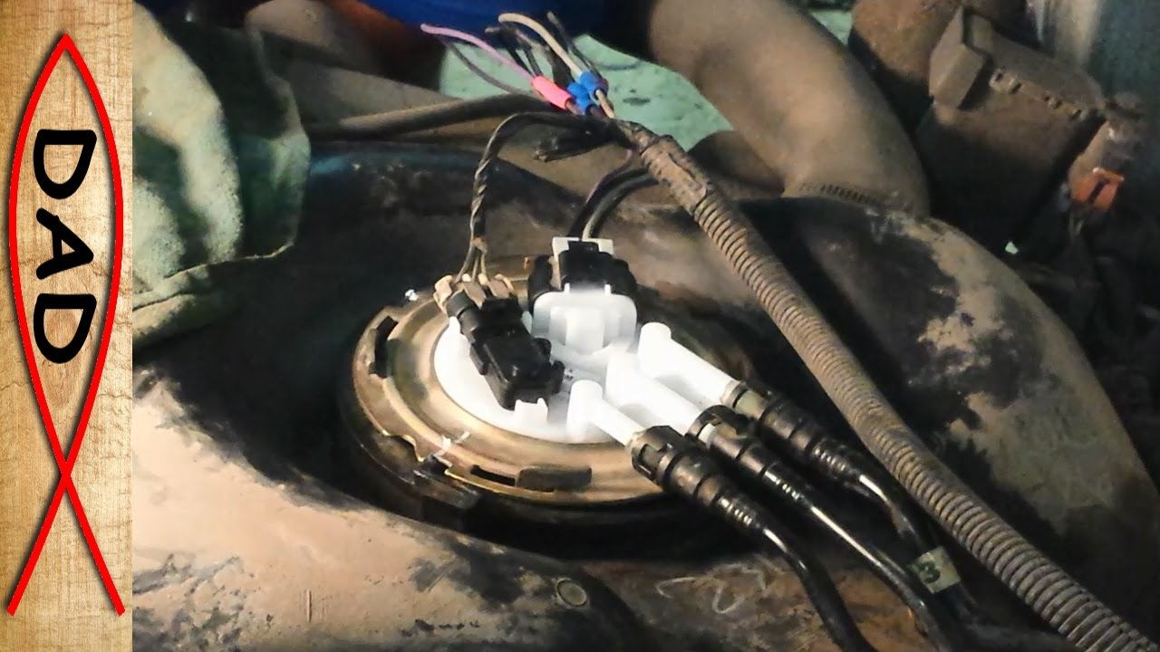 Complete Chevrolet Silverado Fuel pump replacement – 2001 shown  YouTube
