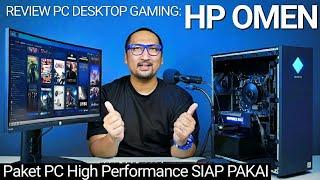 PC Kencang, Lengkap dengan WiFi 6, Windows + Office: Review HP Omen 25L Desktop GT11