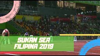 Akhir 4X100M (W) | Sukan SEA 2019 | Astro Arena