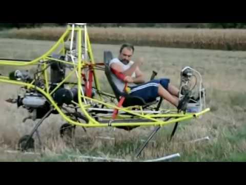 Летающие самоделки,вертолеты и