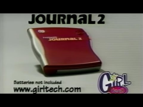Girl Tech Password Journal  2 Commercial (2001)