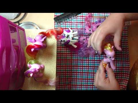 My Little Pony hair taming made EASY!