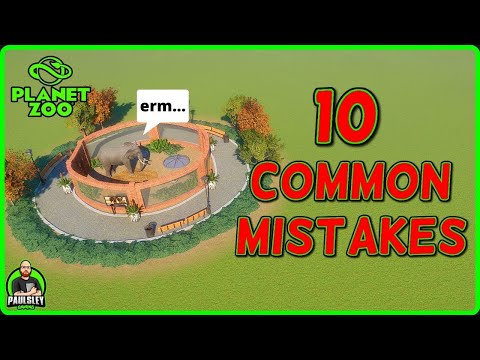 10 Common Mistakes YOU Make in Planet Zoo
