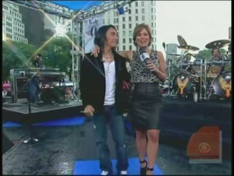 CBS The Early Show Journey Concert Part 1