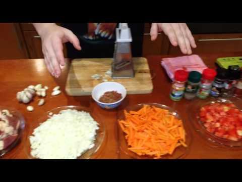 Плов с перловкой Домашние рецепты