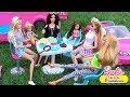 Мультик Барби Авария Зарядка на пикнике в Автодомике Куклы для девочек Dolls ♥ Barbie Original Toys