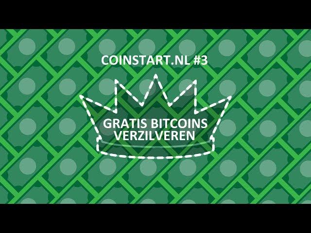 Gratis bitcoins liggen op straat verzilver ze! #3 CoinstartNL