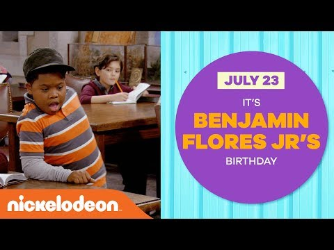 'Happy Birthday, Benjamin Flores Jr.!' 🎂   Tribute Music Video  Game Shakers  Nick