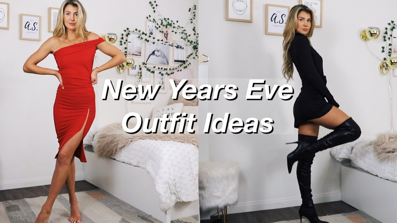 [VIDEO] - NEW YEARS EVE PARTY OUTFIT IDEAS   Lookbook 2019   Try On Haul   Lexi Mars 6
