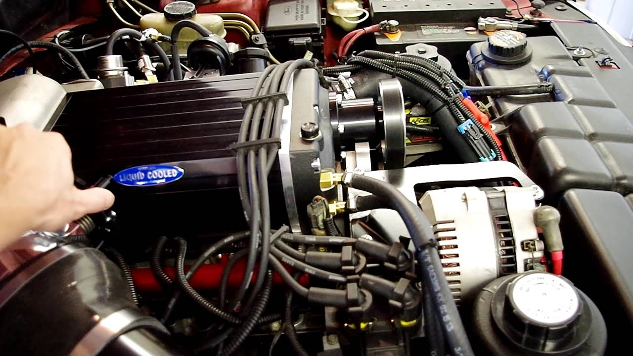 66 Ford Mustang >> Kenne Bell 2.8 Mammoth 1996 Mustang 2V Big Bore Stroker ...