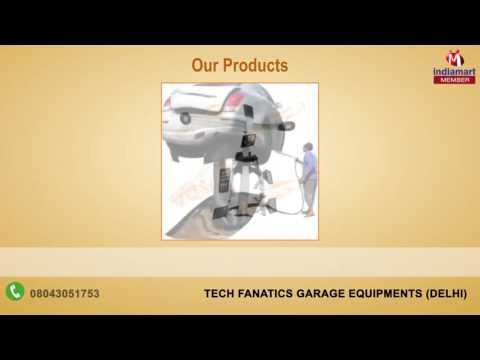 Wheel Alignment Machine And Balancer By Tech Fanatics Garage Equipments, Delhi
