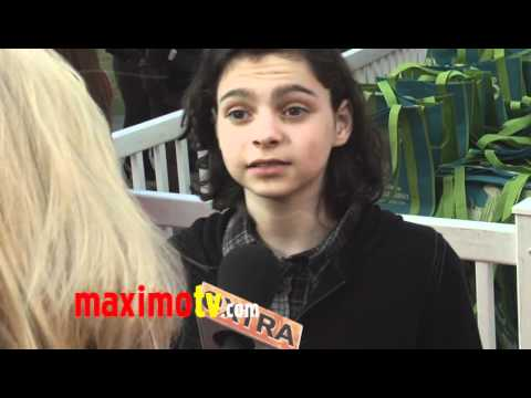 Max Burkholder at AUTISM IS AWESOMISM to Benefit The Miracle Project