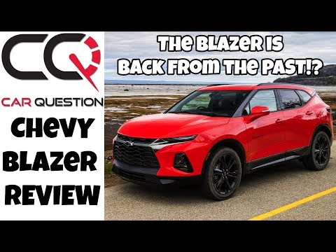 Chevrolet Blazer Review | Stylish and adapted to today's buyer!