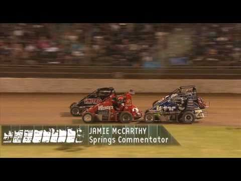 The Dirt - Boxing Night 2010 Midget Feature Western Springs Speedway