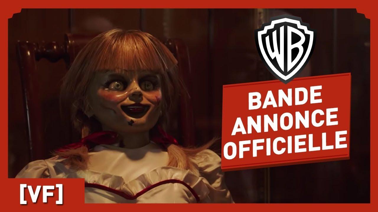 Annabelle - La Maison du Mal - Bande Annonce Officielle (VF) - Mckenna Grace / Patrick Wilson