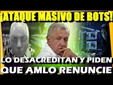 NUEVO CHAYOTE ¡ATA.QUE MASIVO D BOTS PIDEN QUE AMLO RENUNCIE! CASO MINATITLAN - ESTADISTICA POLITICA