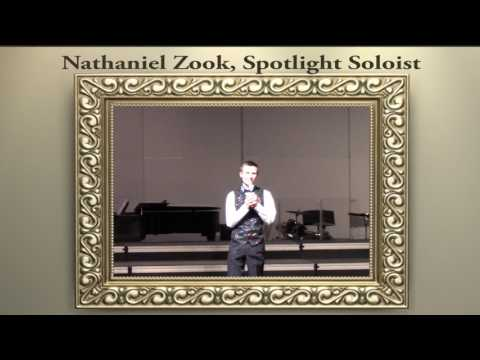 "Fraser High School Spotlight Soloist ""Nathaniel Zook"""
